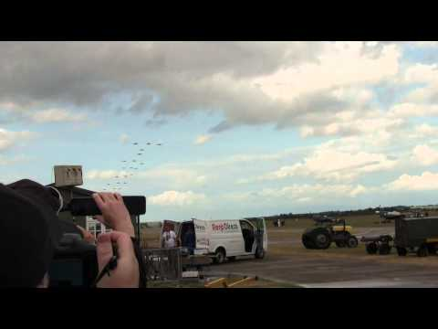 The Joker & Balbo Finale At Flying Legends Air Show 2015