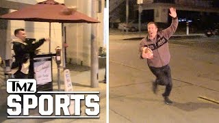 Johnny Manziel Completes First Comeback Pass, To TMZ Camera Guy | TMZ Sports