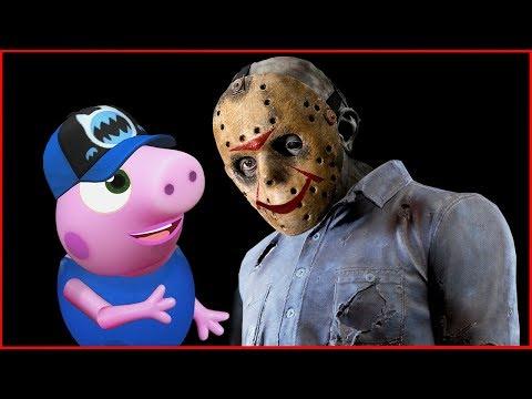 ????ДЖЕЙСОН ВУРХИЗ и ПОРОСЕНОК Мультики СТРАШИЛКИ НА НОЧЬ Horror Pig 2018