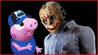 🔴ДЖЕЙСОН ВУРХИЗ и ПОРОСЕНОК Мультики СТРАШИЛКИ НА НОЧЬ Horror Pig 2018