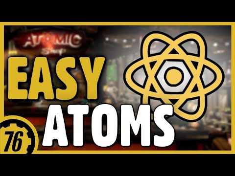 Fallout 76 - How To Earn Easy Atoms  // Atom Challenges