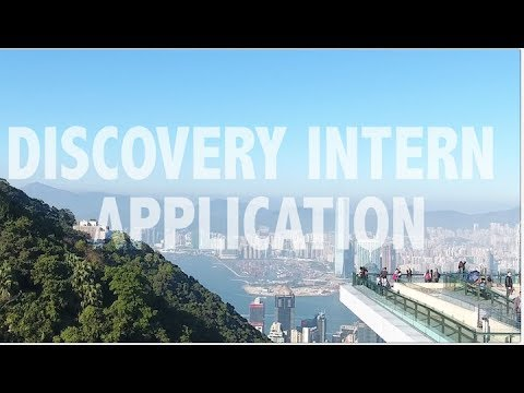 DISCOVERY INTERN APPLICATION
