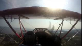 Outer Banks Biplane air tour with Larry Schmitz over the OBX Thumbnail