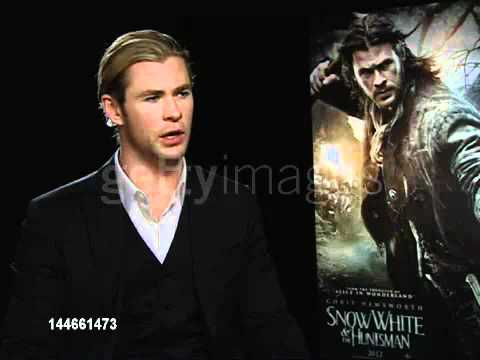 Chris Hemsworth the film being medieval and more grounded then his other roles SWATH