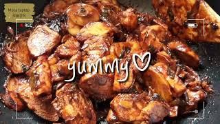 바베큐소스로 닭가슴살치킨 만들기 #간식 #야식 #술안주…