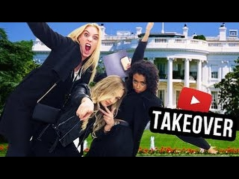 TAKING OVER THE WHITE HOUSE