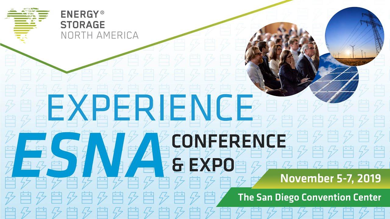 2019 Energy Storage North America Conference & Exhibition   ESNA