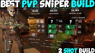 THE BEST PVP SNIPER BUILD |  How to Build Classified Deadeye in Division 1.8.3