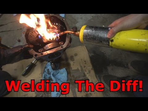 Anyone Can Weld A Diff!