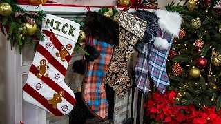 DIY Christmas Stockings - Home & Family