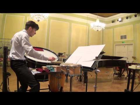 Edgars Raila - Casey Cangelosi - Evil Ernie (multi percussion solo)