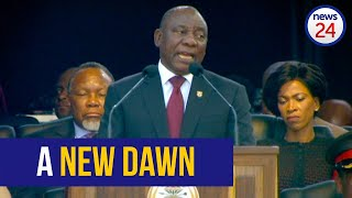 WATCH FULL SPEECH: Ramaphosa pledges to create a better South Africa for all