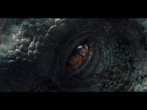 Jurassic World - Indominus Rex VS Ankylosaurus And Gyrosphere (1080p)