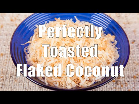 Perfectly Toasted Flaked Coconut (Home Cooking 101)