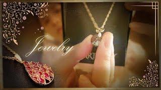 ASMR 한국어 쥬얼리 컬랙션샵 샤방샤방 목걸이소개 ㅣ Jewelry Collection Shop