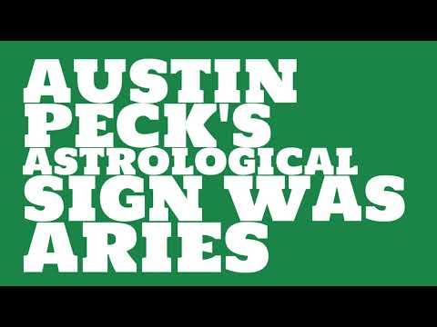 What was Austin Peck's birthday?