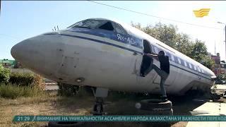 Детское кафе в самолете появится в Уральске