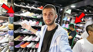 HONG KONG SNEAKER SHOPPING IS CRAZY... OVER 50 STORES ON ONE STREET