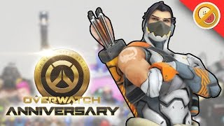 OVERWATCH ANNIVERSARY | New Skins, Mode and Map Gameplay