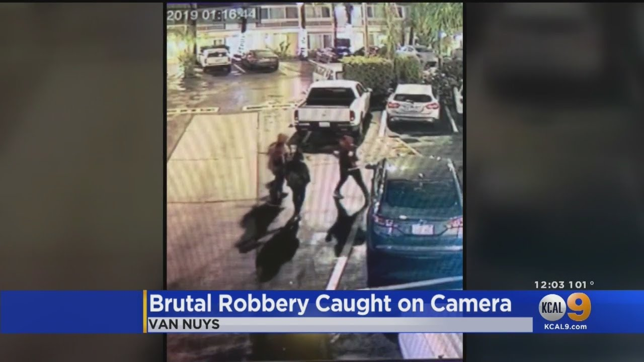 Video Shows Man Being Brutally Beaten With Bat, Robbed In Van Nuys