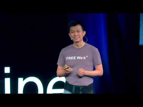 My User-Centric Approach to Exoskeleton Design 幫助傷者重獲新生的鋼鐵人科技   Cheng-Hua Wu 巫震華   TEDxTaipei