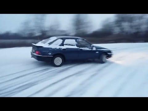 Ford Sierra Mk1 Snow Drift