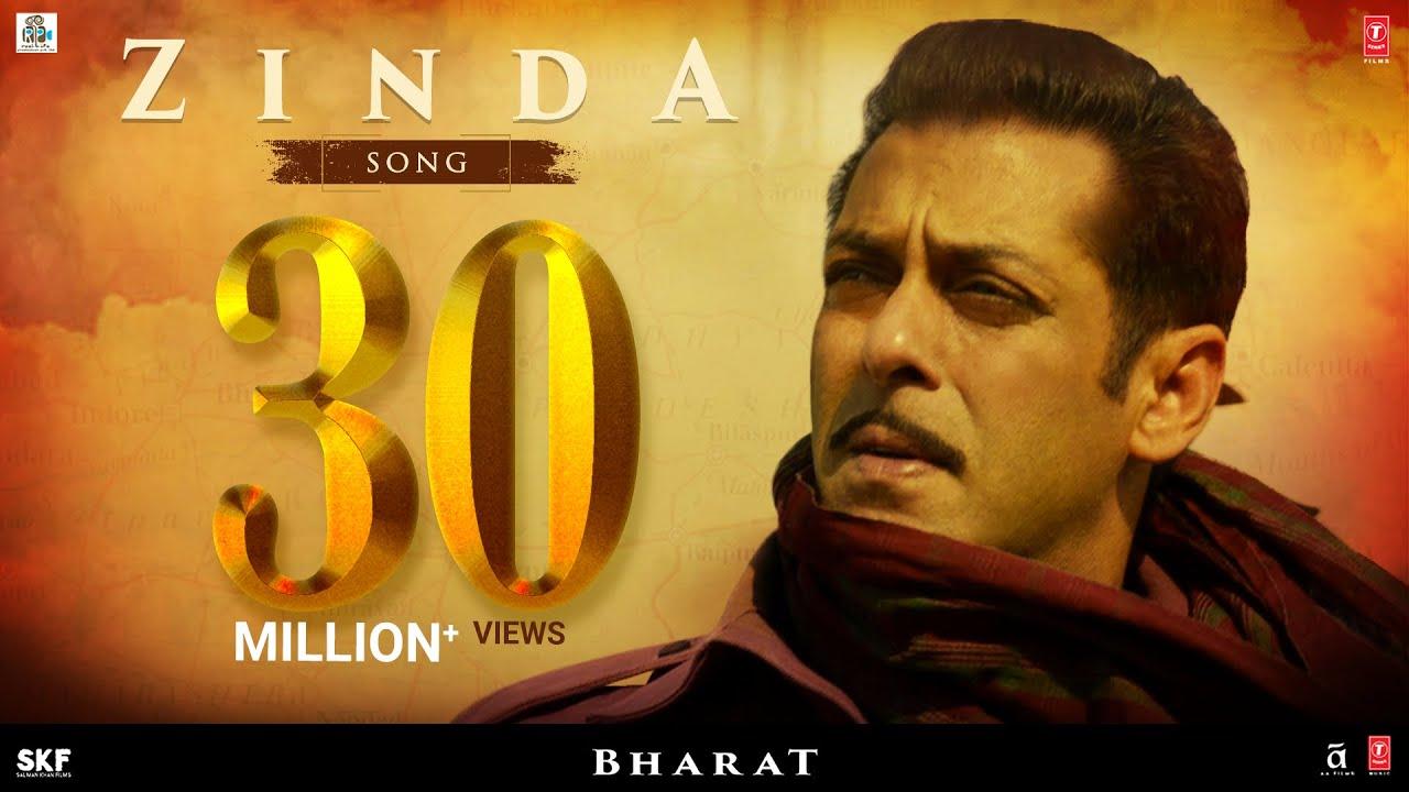 'Zinda' Song - Bharat | Salman Khan |Julius Packiam & Ali Abbas Zafar ft. Vishal Dadlani Watch Online & Download Free