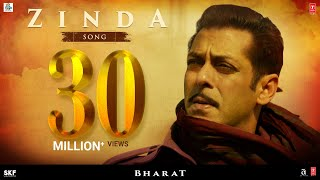 'Zinda' Song - Bharat | Salman Khan | Julius Packiam & Ali Abbas Zafar ft. Vishal Dadl