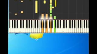 Madonna   Don't Tell Me [Piano tutorial by Synthesia]