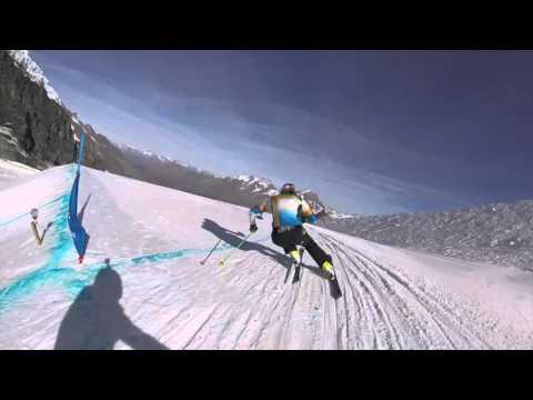 Skicross Saas Fee