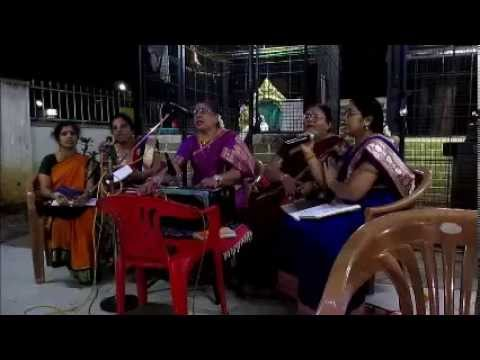 GANESH UTSAV -  BHAJAN BY  Smt  SUNDARI & PARTY, NANDI GARDENS