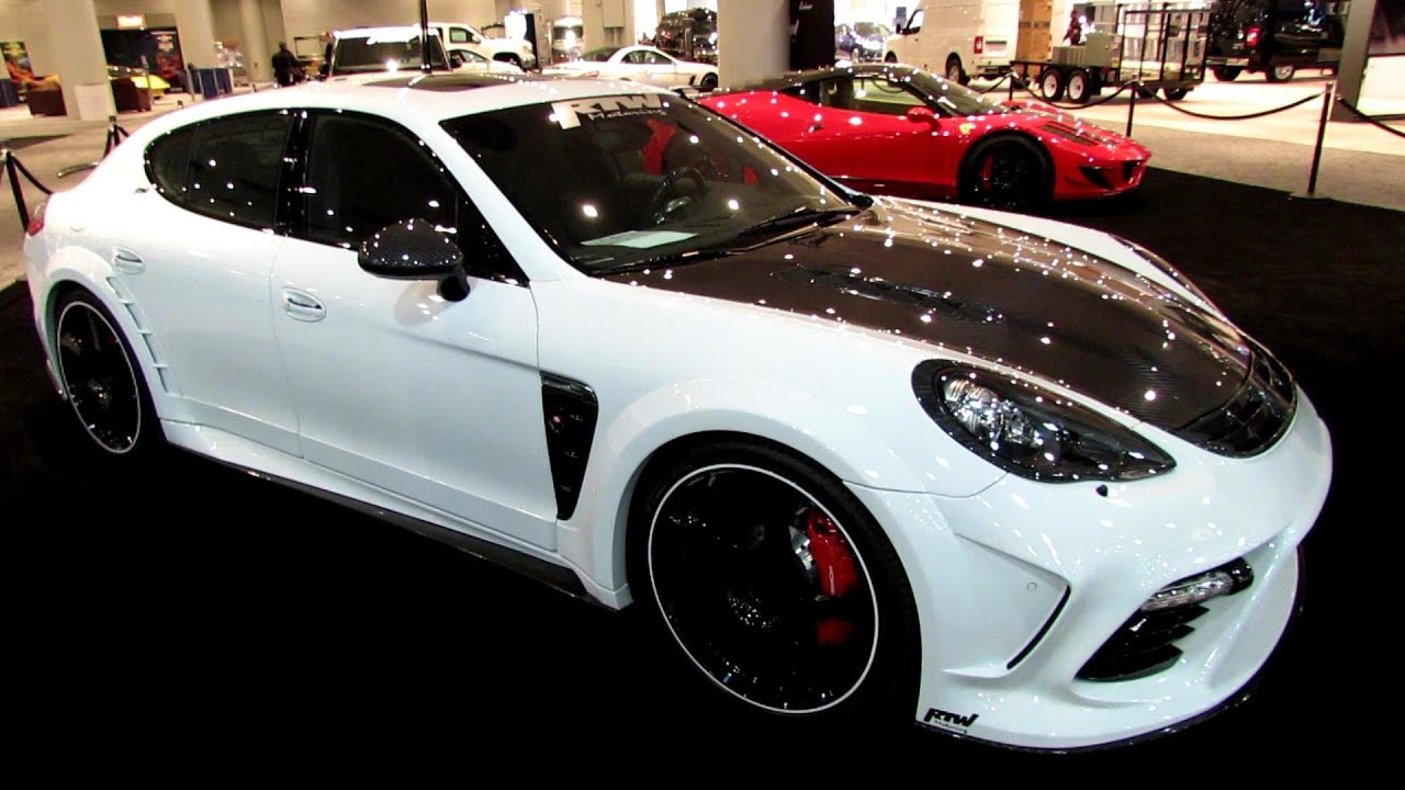 2012 Porsche Panamera Turbo  Mansory Kit by RTW Motoring