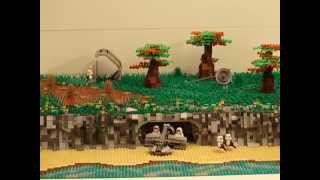 LEGO Star Wars Moc : Hidden Imperial Base on Thyferra