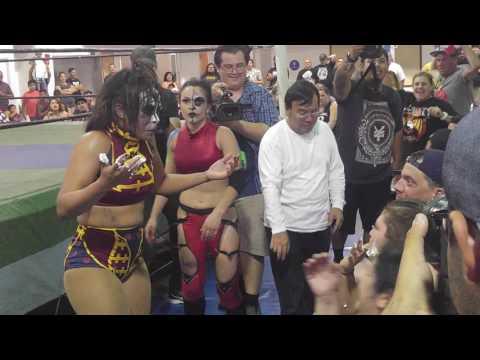 No DQ match Thunder Rosa v Holidead 7/22/2016 FCW, San Diego, CA.