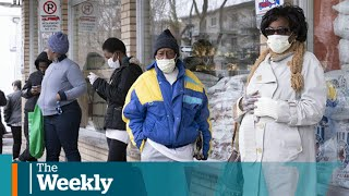 Working-class getting hit harder by COVID-19, data shows | The Weekly with Wendy Mesley