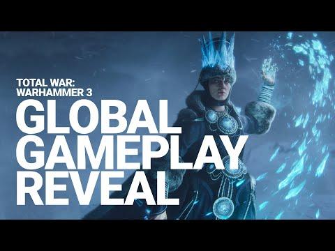 Total War: WARHAMMER III Global Gameplay Reveal | Full Showcase