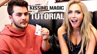 Learn The Magic Kissing Card Trick!!! ft  Dom DeAngelis