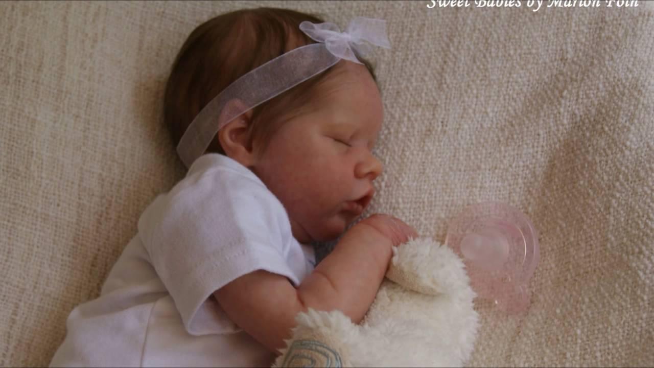 Sweet Babies By Marion Foin Reborn Twin B Bonnie Brown