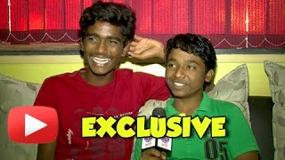Fandry Kids Somnath Avghade & Suraj Pawar On Their First Marathi Movie - Exclusive Interview!