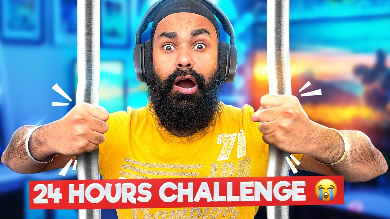 LOGGY LOCKED ME IN GAMING ROOM FOR 24 HOURS CHALLENGE