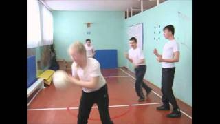 Урок физкультуры в АСКШИ.wmv