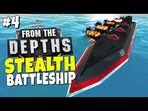 From the Depths Resurrection - Episode 4 - Stealth Battleship |