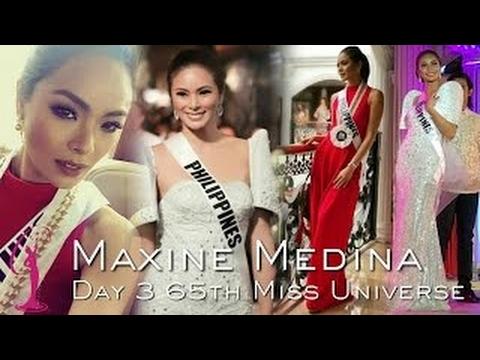 MAXINE MEDINA    Day 3 65th Miss Universe    Miss Universe 2016