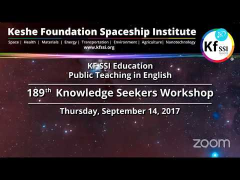 189th Knowledge Seekers Workshop Thursday September 14th, 20