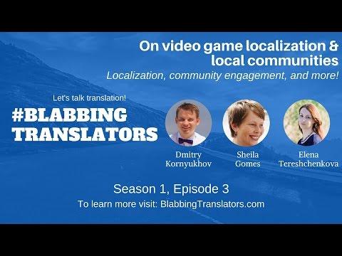 #BlabbingTranslatos On video game localization & local communities feat Sheila Gomes