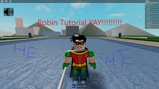 HOW TO PLAY ROBIN l Teen Titans Battlegrounds on Roblox
