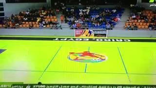 عرض افتتاح البطولة الافريقية لكرة السله انسات تحت 18سنة .. 2016