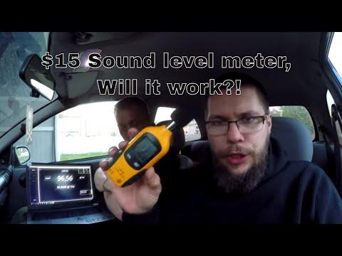 $15 EBAY SPL DB Sound Level Meter, Will It Record Bass!?