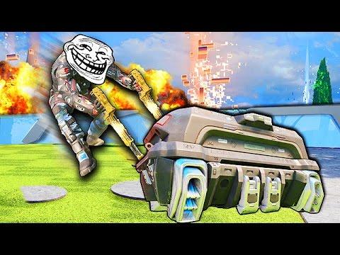 Black Ops 3 Gravity Spikes Trolling! - Ninja Moments, Care Package Troll!
