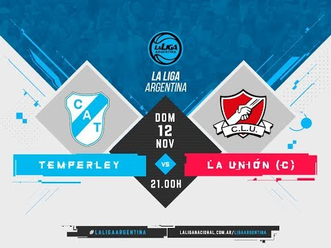 #LaLigaArgentina   12.11 Temperley vs. La Unión de Colón